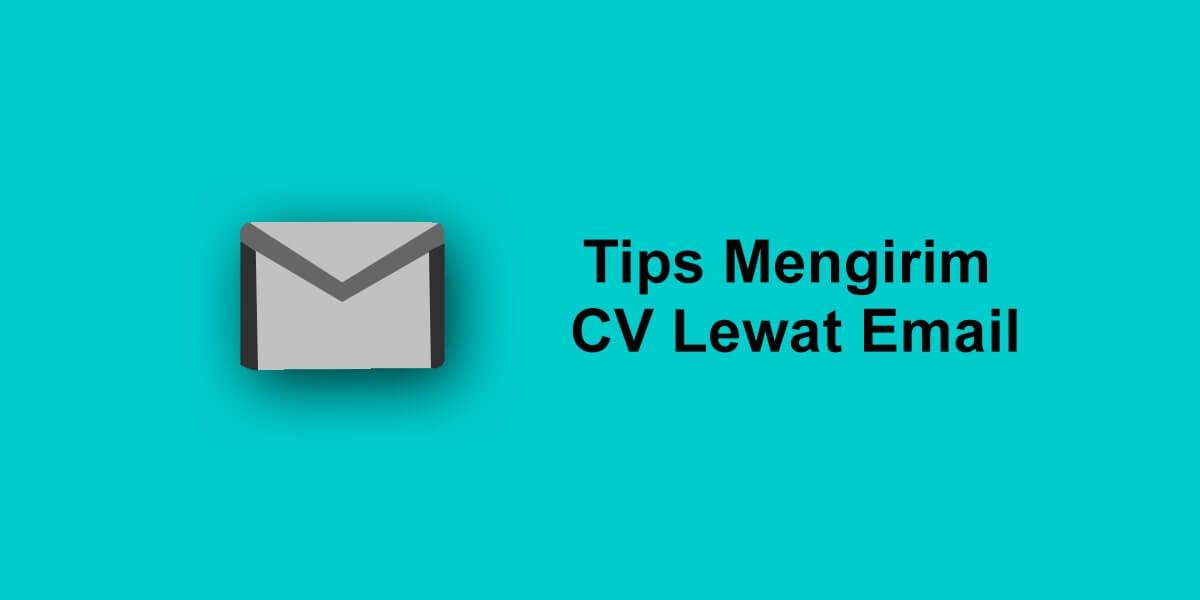 tips mengirim cv lewat email
