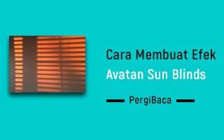 cara membuat avatan sun blinds