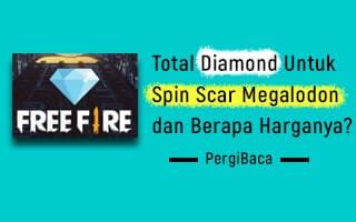 total diamond untuk spin scar megalodon